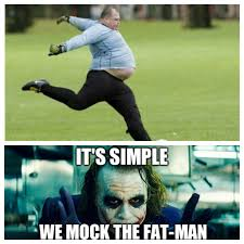 Fat Person Meme - need karma it s simple funny