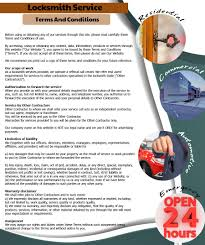 catonsville locksmith service terms and conditions