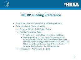 public health administration salary nurse education loan repayment program nelrp for rns working in