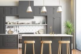 what color compliments gray cabinets top 5 gray paint colors for kitchen cabinets kitchens