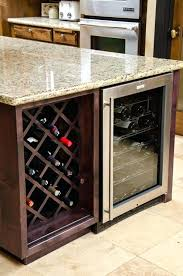 kitchen wine rack ideas how to build a wine rack in a kitchen cabinet best kitchen wine
