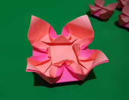 easy origami flower easy and rich paper flower ideas for