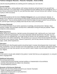 fashion designer resume sle 28 images resume for fashion