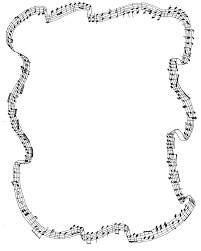 free music notes border clipart image 8618 music notes border