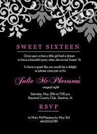 Sweet 16 Invitation Templates Free sweet 16 invitation templates free sweet 16 invitation templates