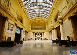 Chicago Metro Station Map by Union Station Chicago