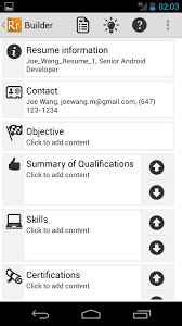 resume ready lite android apps on google play