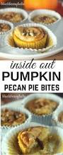 thanksgiving recipe dessert inside out pumpkin pie bites blackberry