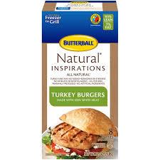 butterball turkey marinade butterball all turkey burgers from kroger instacart