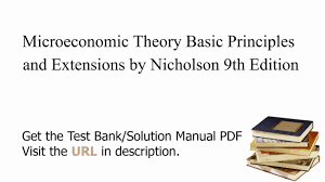 practice test bank for microeconomic theory basic principles and
