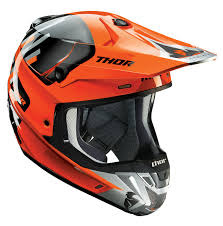 ebay motocross helmets thor mx motocross 2017 verge helmet vortechs flo orange gray