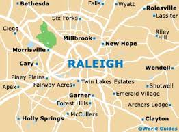 raleigh maps and orientation raleigh carolina nc usa