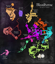 Map Of The Dead This Is The Full Map Of Bloodborne Vg247