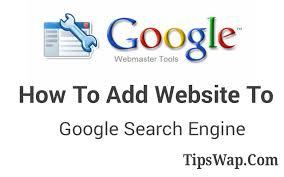 webmaster how to add wordpress wapka website to google webmaster tools