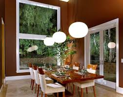 rustic dining room lighting ideas rustic dining table with parson chairs on beige lively room