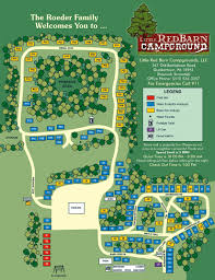 Bucks County Map Little Red Barn Campground Camping In Bucks County Pennsylvania