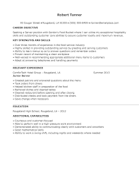 Utility Worker Resume Server Resumes Resume Cv Cover Letter