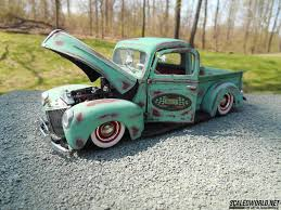Classic Ford Truck 1940 - 1940 ford shop truck scaledworld