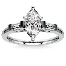 most popular marquise diamond settings