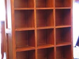 Made Bookcase 58 Bookcase Display Unit Gaya Cube Sheesham Multi Shelf Display