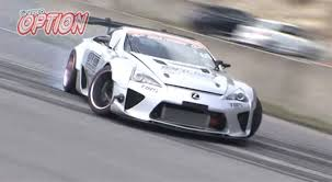 lexus sports car v8 you u0027ll be amazed by this v8 engined lexus lfa drift car