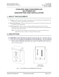 emerson outside plant netreach coolped 3 0 installation manual