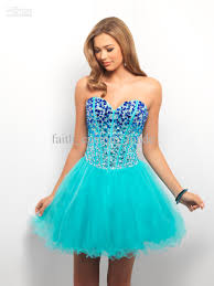 bahama blue a line homecoming party dresses 2015 sweetheart