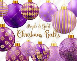 Red Gold And Purple Christmas Tree - hawaiian christmas digital paper mele kalikimaka hawaii