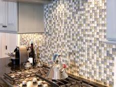 Glass Backsplash Ideas Pictures  Tips From HGTV HGTV - Glass backsplash pictures