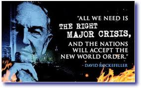 New Meme Order - all we need is the right major crisis and the nations will accept