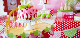 baby girl 1st birthday themes kara s party ideas strawberry shortcake themed birthday