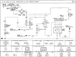 1991 mazda b2600i wiring diagram ac heat air conditioning fan
