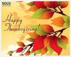 a happy thanksgiving wishes to all our clients partners friends