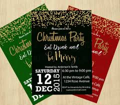 christmas party invitation templates free powerpoint