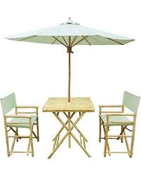 Folding Bistro Table And 2 Chairs Sale Zew Handmade 4 Bamboo Folding Bistro Set With