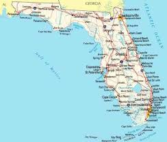 map of the west coast of florida map travel
