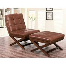 156 41 tribeca leather chair and ottoman dealepic