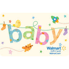 gift card registry wedding baby clothesline gift card walmart