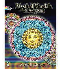 mystical mandala coloring book joann
