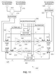 Radio Repeater Circuit Diagram Patent Us8005513 Cell Phone Signal Booster Google Patents