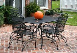 Walmart Wrought Iron Table by Patio Ideas Wrought Iron Patio Furniture Walmart Wrought Iron