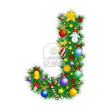letter j christmas tree decoration j is for jeanne pinterest