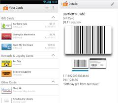 store cards app wallet app arrives in beta for android and phone