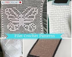how to filet crochet tutorial 6 filet crochet patterns