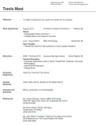 Sample Resume For A Highschool Student Sample Resume Templates For Highschool Students Construction