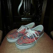 Jual Vans Liberty vans x liberty s fashion footwear on carousell