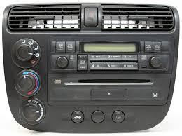 2002 honda civic radio honda civic 2002 2005 factory stereo am fm single disc cd player