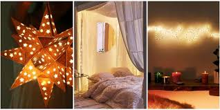 Bedroom Light Decorations 24 Ways To Decorate Your Home With Lights Decorating