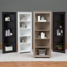 4 Sided Bookshelf Finley Home Hudson 4 Cube Rotating Bookcase Hayneedle