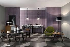 wandfliesen küche best fliesen küche geometrisch muster in grau farbe und kombiniert